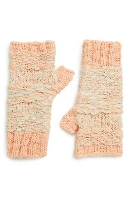 Free People (Anthropologie) NWT Women's Keep Cozy Fingerless Gloves, One Size