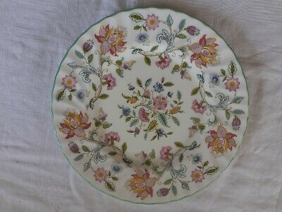 Minton, Fine Bone China. Haddon Hall Floral Breakfast Plate. China Search. 20cm