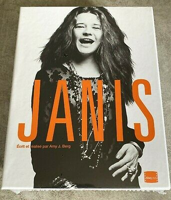 Janis Coffret Collector Bluray + Dvd + Goodies France Neuf Janis Joplin