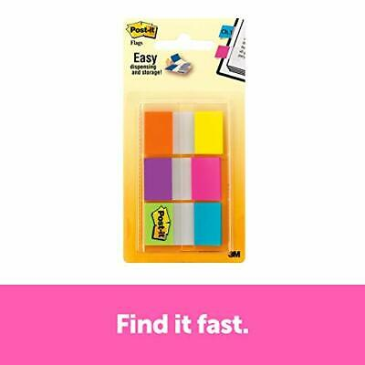 Post-it Flags Electric Glow.94 in x 1.7 in 60 Flags per Pack 680-EG-ALT