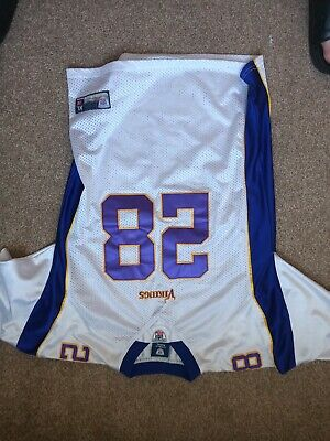 Minnosota Vikings Nfl American Football Jersey XL Youth Or Small Adult