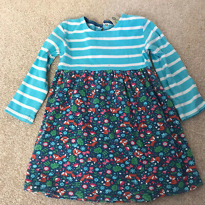 Frugi Girls Dress 2-3 Years