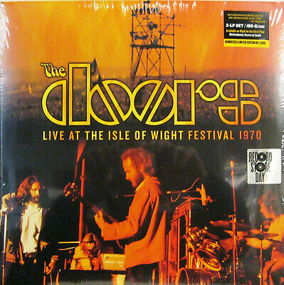 "THE DOORS ""LIVE AT THE ISLE OF WIGHT FESTIVAL 1970""  2 lp limited edition RSD"