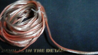 10metres of good quality hi-fi cable (2core)