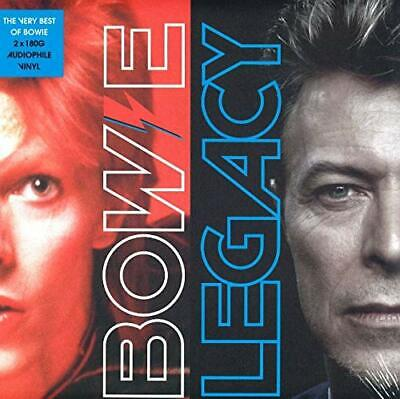 """David Bowie """" Legacy The Very Best Of Bowie 180G Double Vinyl Album """" New Sealed"""