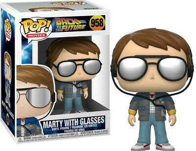 Funko Pop! Movies: Back to the Future MARTY MCFLY WITH GLASSES  #958 PREORDER