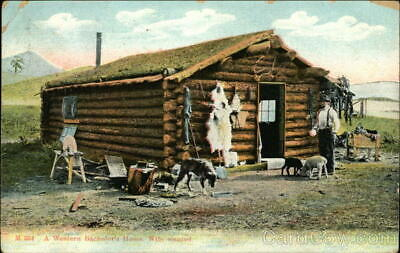 Cowboy/Western 1907 A Western Bachelor's Home. Wife Wanted Chas. E. Morris