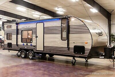 2018 Forest River Cherokee Grey Wolf 26BH Used Bunkhouse Travel Trailer Sale
