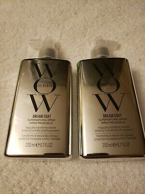 2 Pack Color Wow (CW527) Dream Coat Humidity Supernatural Spray 200ml