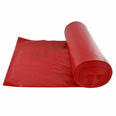 Darling Food Service 1.2 Mil Red 40-45 Gallon Trash Liner - 100 / CS
