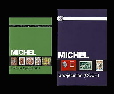 MICHEL Sowjetunion USSR Russia catalog katalog in P.DF -price for 2 catalgs