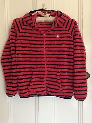 Lovely Hi Gear Hooded Fleece Jacket Top age 11-12 years EX COND