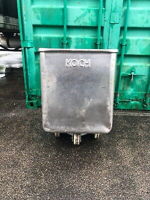 Koch Dough Tote Stainless Steel Tub