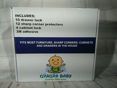 Cabinet Locks Baby Child Safety Set Of 26 Pieces Locks Proof For Entire House