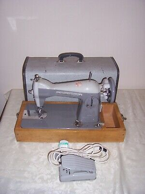 vintage sewing machine frister & rossman model 25 semi industrial 99p no reserve