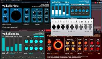 Valhalla DSP Bundle (VST, AAX, RTAS) Plugins Multi Device LIFETIME [WIN] 🔥