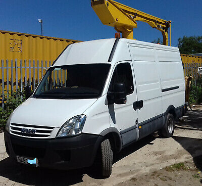 IVECO DAILY 3.0.50C13 1 OWNERLOWMILESNICEVAN Cherry Picker Access 57reg