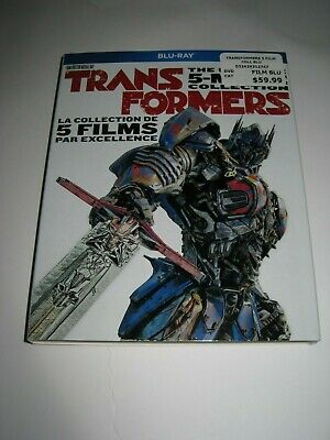 Transformers: 5-Movie Collection (Blu Ray slip cover only)No Disc No Blu Ray