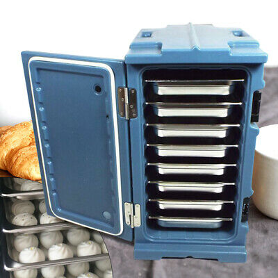 90L Portable Insulated Hot Food Carrier Thermal Dish Pan Containers US Stock