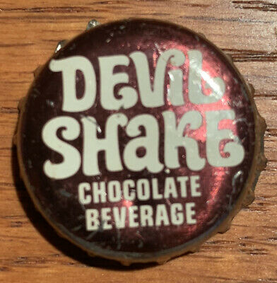 Devil Shake Chocolate Beverage Cork Used Bottle Cap Pepsi-Cola Distributing NY