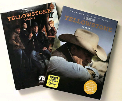 Yellowstone :The Complete Series Season 1-2 (8 Disc Set , DVD ) Brand New Sealed