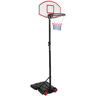 Portable Kids Junior Youth Basketball Hoop Adjustable Pole W. Wheels *Brand New*