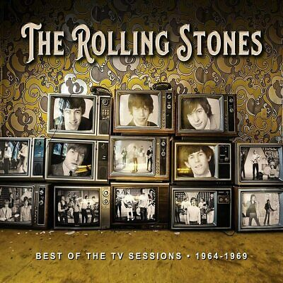 THE ROLLING STONES 'BEST OF THE TV SESSIONS 1964-1969' 2 CD Set (5th June 2020)