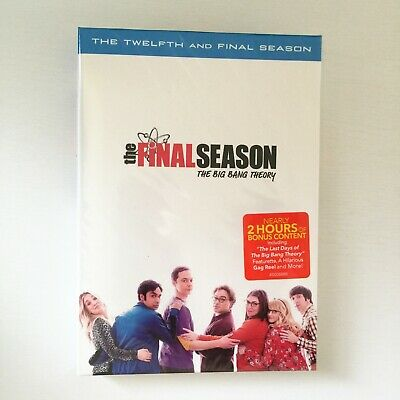 The Big Bang Theory The Complete Twelfth 12th 12 and Final Season DVD