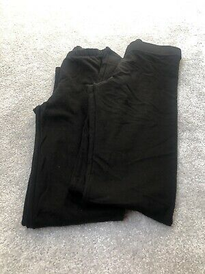 Girls 2 Pairs Of Leggings 1 New 1 Worn Once Gap And H&m Age 14