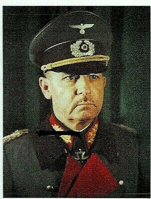 Ww2 General Feldmarschall Wilhelm List Knights Cross Poland France Barbarossa Sg