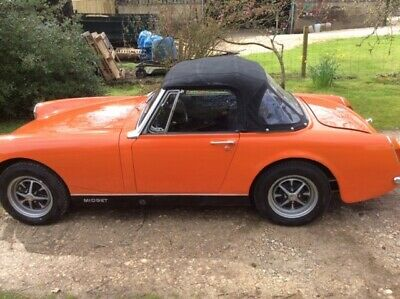 1972 MG Midget 1275cc Round Arch model. Lovely condition