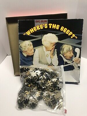Vintage 1984 Wendys Wheres The Beef Puzzle Compl 551 Pieces Rare Hard To Find