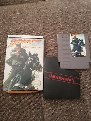 Indiana Jones And The Last Crusade Nes with box (no manual) aunthetic
