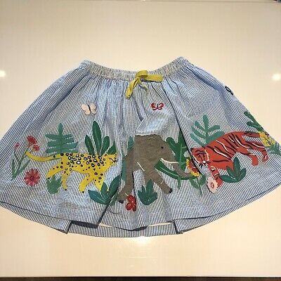 Girls Appliqué Skirt. Age 7-8 Years From Mini Boden