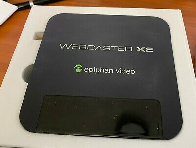 Epiphan Systems Webcaster X2 Simplest Encoder for Facebook & YouTube