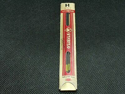 vintage pencil leads 2mm STABILO  H - made in Germany