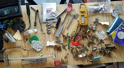 🔑 Elevator Inspection Tools, Keys, Parts--Used/ Grab Bag 👜
