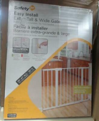 NEW Safety 1st Tall and Wide Easy Install Gate $70