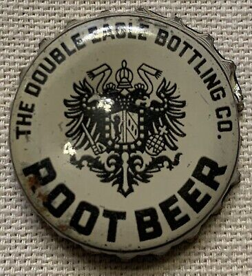 Double Eagle Root Beer Rare Cork Soda Bottle Cap Cleveland Ohio