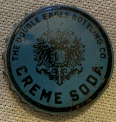 Double Eagle Bottling Co Soda Used Cork Bottle Cap Very Rare Cleveland Ohio