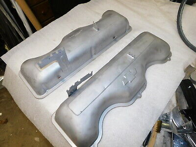 RARE 1958 ONLY 348 Chevy valve covers
