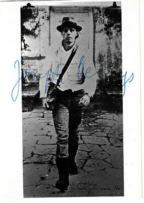 Joseph Beuys original hand signed carte