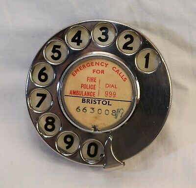 GPO TELEPHONE DIAL No 12