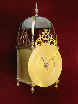 Unfinished Lantern Clock Project Based On Antique Clock Movement