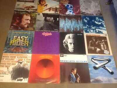 Rock / Pop / Prog Rock.Record  Collection. 80 LP's in Total  Please See Pictures