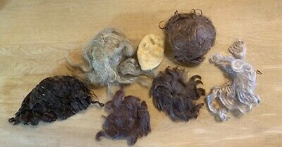Old Doll Wigs, Pieces, Most TLC, Various Conditions And Sizes
