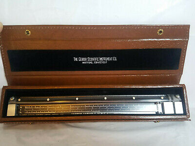 Vintage & Hard to Find The Gerber Scientific Instrument Co Variable Scale-USED