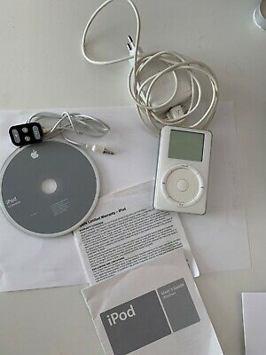 ipod classic 1st 2nd generation 10gb scroll touch wheel as new / Top Top