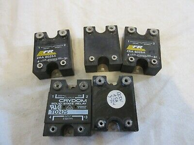 Solid State Relay 3-32V Primary 240V 25A Switch X5 Units Td2425               C6