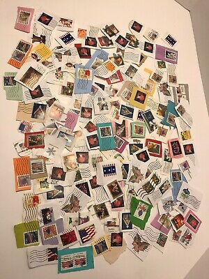 Huge Lot Of Used Stamps Usps Forever Stamp United States Postal Service Collect